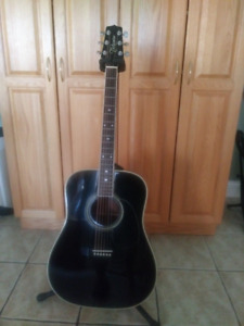 1988 Takamine F-341 acoustic guitar & case