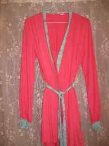 jaquette et robe de chambre