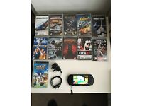 Sony psp street with 15 games