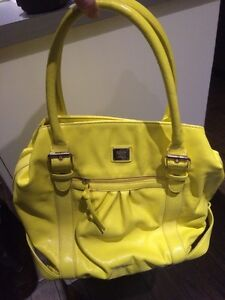 Yellow Liz Claiborne bag