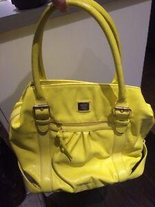 Yellow Liz Claiborne bag