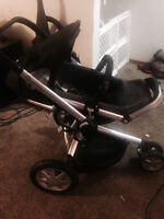Quincy  Buzz Xtra stroller with cup holder 200 OBO