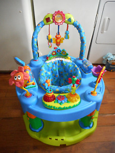 everflow exersaucer has 3 stages