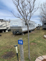 Travel trailer for sale  at the Koa Sussex