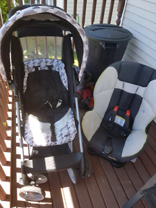 Car seat and stroller evenflo