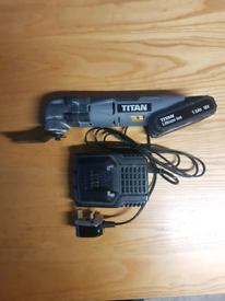 TITAN MULTITOOL +battery+charger-will post-