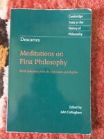 Meditation on First Philosophy