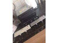 3 x faulty DVD desktop rom drives with 2 interchangeable faces.
