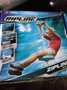 Ripline Outdoor Zipline, 50-ft