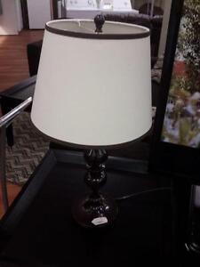 *** USED *** ASHLEY MISTY METAL LAMP (2/CN)   S/N:51147079   #STORE509