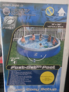 """15FT by 36"""" soft side pool"""