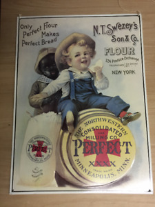 Rare Classic collector metal signs