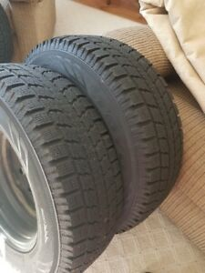 Toyo Winter Tires- 225/70R16 -used 1 season only