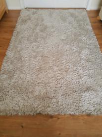 Dunelm indulgence shaggy rug