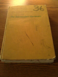 Vintage Gage Canadian English Dictionary Hardcover London Ontario image 2