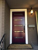 Mid Century Modern and Contemporary doors