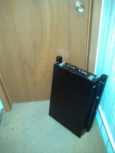COMPACTING FOLD DOWN ART EASEL into own CARRY BOX Cambridge Kitchener Area image 3