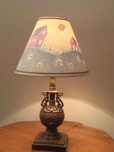 Lampe déco vintage