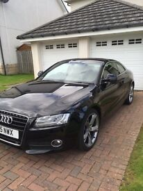 Audi A5 1.8TFSI Sport. Multitronic. Low mileage, lots of extras!!