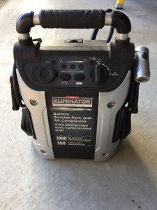 Motomaster Eliminator 1000amps battery booster pack