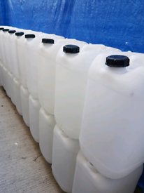 Water containers 25lt