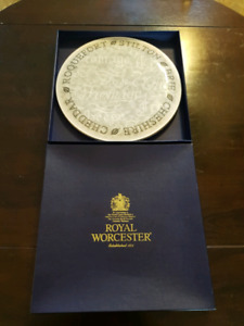 Royal Worcester Cheese Plate