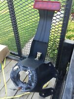 Jeep Jk spare tire mount with light