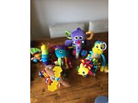 6 Lamaze Sensory Toys