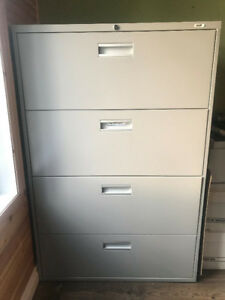 3 & 4 Drawer File Cabinets