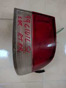 1999-2000 Honda Civic Coupe Tail Light OEM Right Side