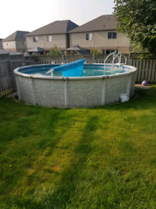 18' above ground pool