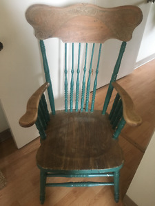 Old Pressback Chair