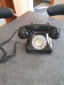 Retro home corded phone