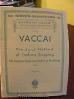 2 livres de vocalises pour mezzo-soprano (alto) ou bariton