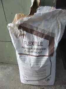 25kg bag of flex tile polymer modified floor grout