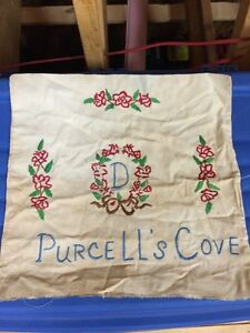 Purcell's Cove Embroidery & Dover Flour Sack