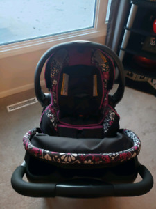 New Condition Evenflo Car Seat Travel System