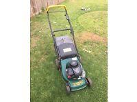 Tuffcut petrol lawn mower 148cc Briggs Stratton engine