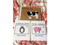 3 Humour Books, Edward Monkton, Hardback