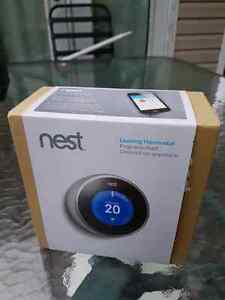 Nest 2nd generation thermostat smart tech