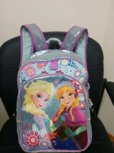 Disney Frozen Backpack and Dress 3T