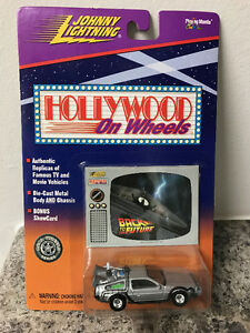 Johnny Lightning - Hollywood on Wheels - Back To The Future car