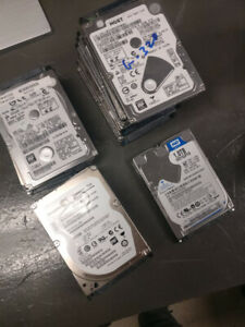 Laptop Hard Drives 250gb - 1TB