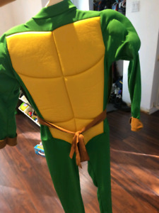 Costume halloween ninja turtle grandeur environ 5 ans