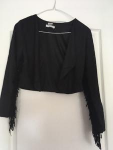 Mom Sale: Bolero Jacket with Fringe Girls
