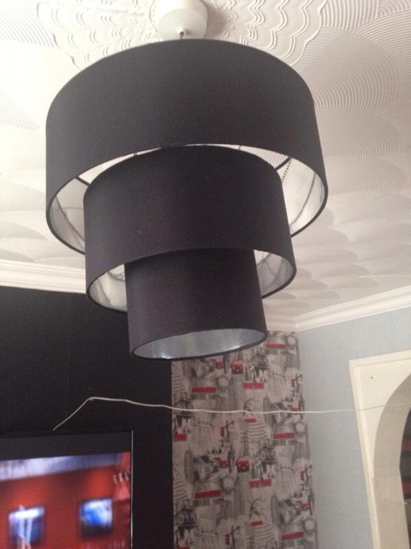 Ceiling Lights Gumtree Belfast : Black light shade in ely cardiff gumtree