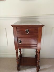Victorian Cabinet with Marble Top