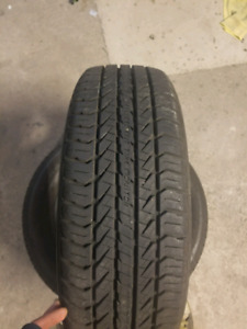 Pair(2) of 195/65/15 General Tires