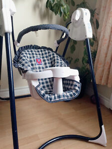 Baby swing and baby rocker/chair both in great condition