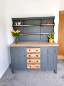 Ercol two door four drawer dresser